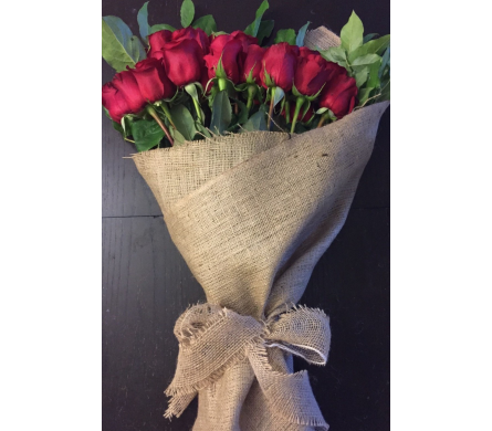 DOZEN WRAPPED in Needham MA, Needham Florist