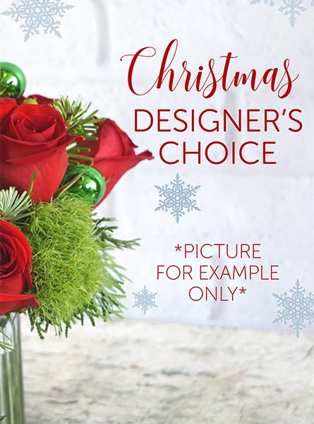 Christmas Designer's Choice in Chicagoland IL, Amling's Flowerland