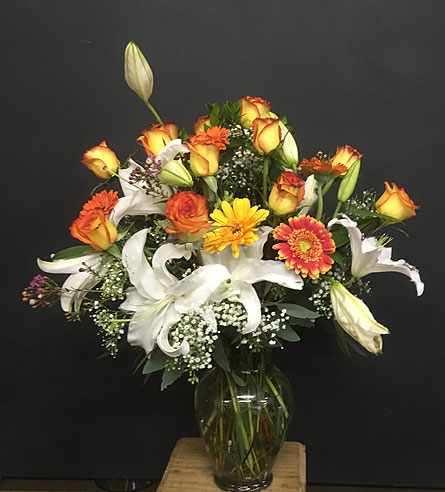 Dozen Roses Premium/WOW Two-Tone in Tempe AZ, Bobbie's Flowers