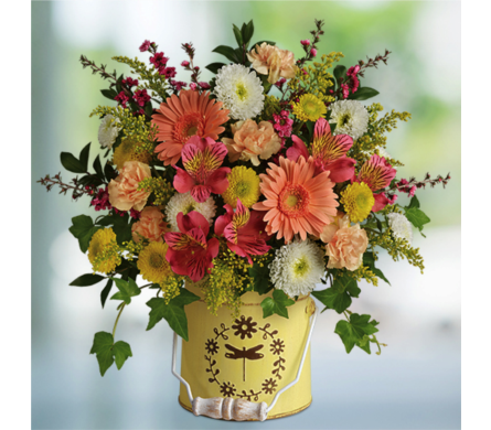 Country Spring Bouquet in Indianapolis IN, George Thomas Florist