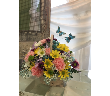 Flight of the Butterflies in Spring Hill FL, Sherwood Florist Plus Nursery