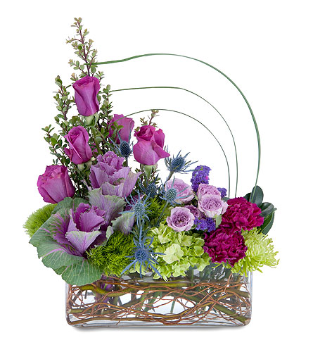 Magenta Magic in South Hadley MA, Carey's Flowers, Inc.