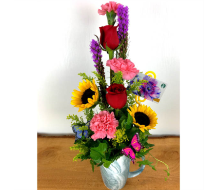 Blooming Latte'' in Baltimore MD, Raimondi's Flowers & Fruit Baskets