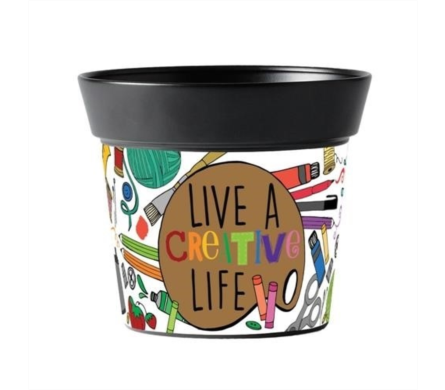 Live Creatively Art Pot in Eden Prairie MN, Belladonna Florist
