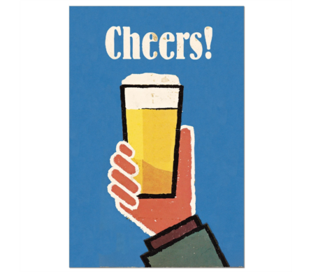 Beer Cheer Wall Decor in Princeton, Plainsboro, & Trenton NJ, Monday Morning Flower and Balloon Co.