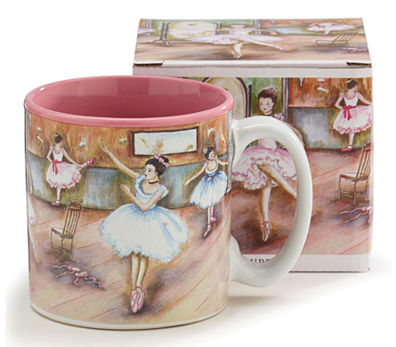 Ballerina Mug filled w/ Candy in Hudson NH, Anne's Florals & Gifts