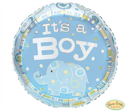 It's A Boy Mylar Balloon  in Norristown PA, Plaza Flowers
