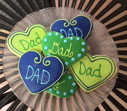 Fathers Day Cookies! in Portland OR, Portland Florist Shop