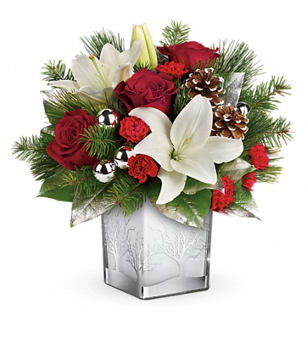 Teleflora's Frosted Forest Bouquet in Mount Airy NC, Cana / Mt. Airy Florist