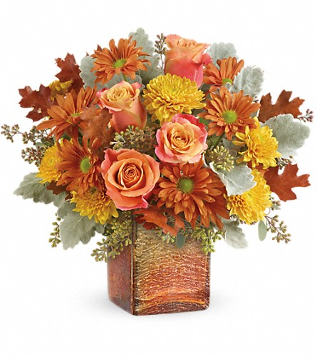 Teleflora's Grateful Golden Bouquet in Freeport IL, Deininger Floral Shop