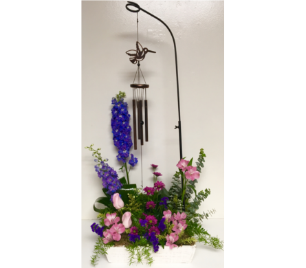 How Does Your Garden Grow Chimes in Fresh Flowers in Wyoming MI, Wyoming Stuyvesant Floral