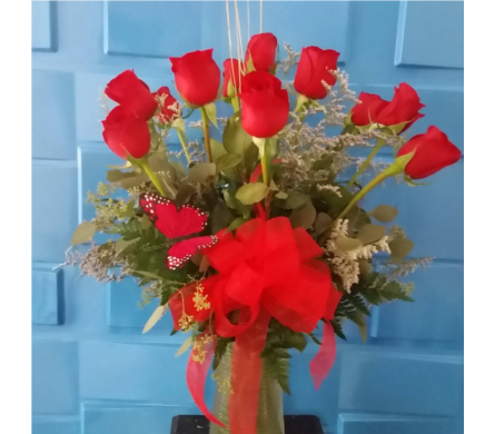 $49.99 Summer Rose Special in Bossier City LA, Lisa's Flowers & Gifts