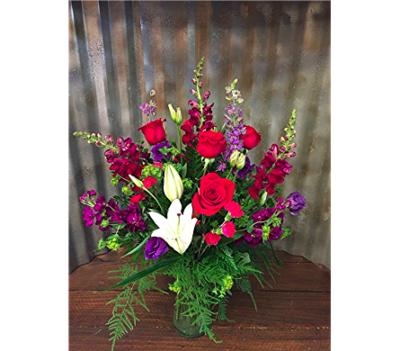 Bold and Bright in Boise ID, Hillcrest Floral