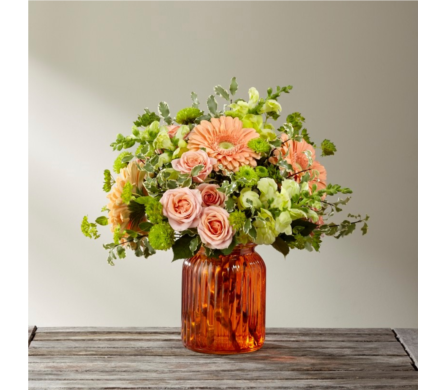 Farmhouse Collection-Peachy Keen in Arizona, AZ, Fresh Bloomers Flowers & Gifts, Inc