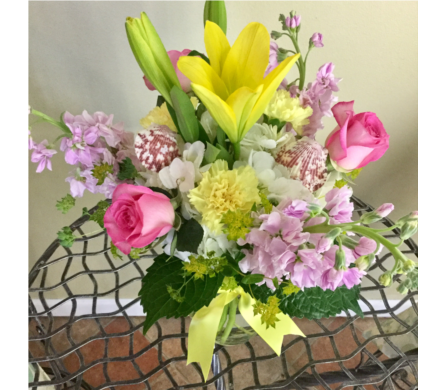 Lemom Love Bouquet in Vero Beach FL, Artistic First Florist