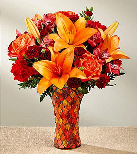 Autumn Splendor Bouquet in Concord CA, Vallejo City Floral Co