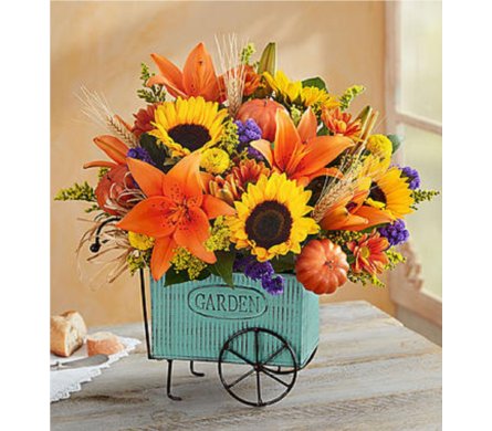 Harvest Garden Cart in Huntington WV, Archer's Flowers and Gallery