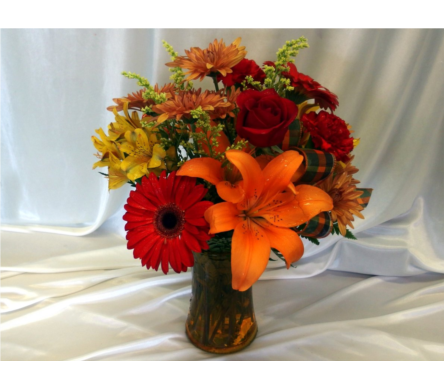 Colors of Autumn in Hollidaysburg PA, Warner's Florist Gifts & Greenhouse