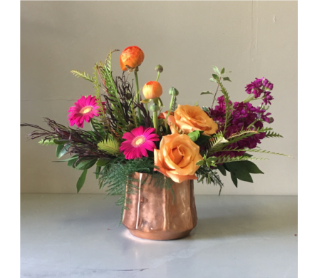 Autumn Flower Arrangement in Walla Walla WA, Holly's Flower Boutique