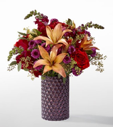 The Autumn Harvest™ Bouquet by Vera Wang in Sapulpa OK, Neal & Jean's Flowers & Gifts, Inc.