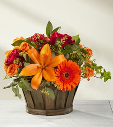 The Harvest Memories™ Basket in Sapulpa OK, Neal & Jean's Flowers & Gifts, Inc.