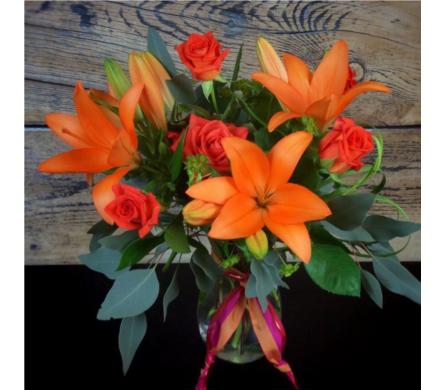 Orange Glow  in Needham MA, Needham Florist