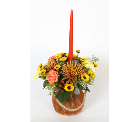 Pumpkin Centerpiece in Southampton PA, Domenic Graziano Flowers