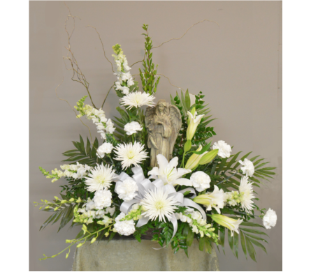 Angelic Angel Tribute in Utica NY, Chester's Flower Shop And Greenhouses