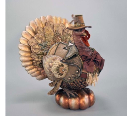 Katherine's Collection Gilded Seasons Turkey in Bellevue WA, CITY FLOWERS, INC.