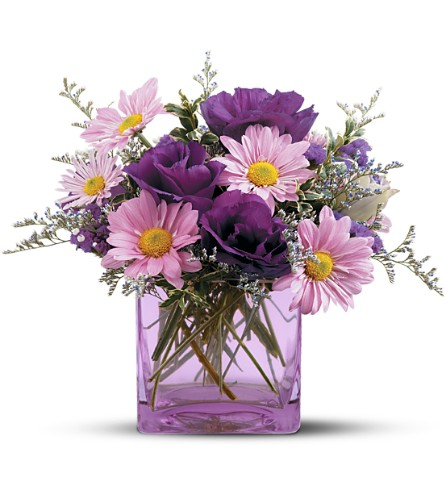 Teleflora's Lavender Sunset Bouquet in San Francisco CA, Fillmore Florist