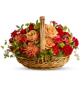 Spanish Garden Basket in Rochester NY, Fabulous Flowers and Gifts