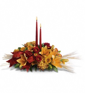 Graceful Glow Centerpiece in New Martinsville WV, Barth's Florist