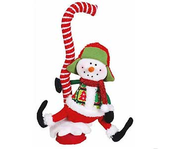 Singing Rocking Snowman in San Antonio TX, Best Wholesale Christmas Co