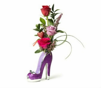 Put On Your High Heels, Baby! in East Syracuse NY, Whistlestop Florist Inc