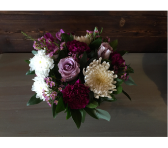 Shades of Mauve in Cranbrook BC, M J's Floral Boutique