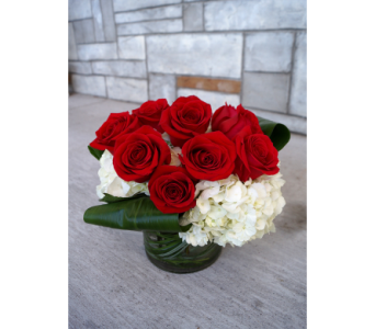 Luxe Red Rose in Muskegon MI, Wasserman's Flower Shop