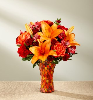 Autumn Splendor Bouquet in Camp Hill and Harrisburg PA, Pealers Flowers