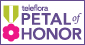 Teleflora's Petal of Honor, an award of excellence given to select member florists that exemplify exceptional