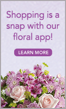 download your floral app for Hunt's Flowers