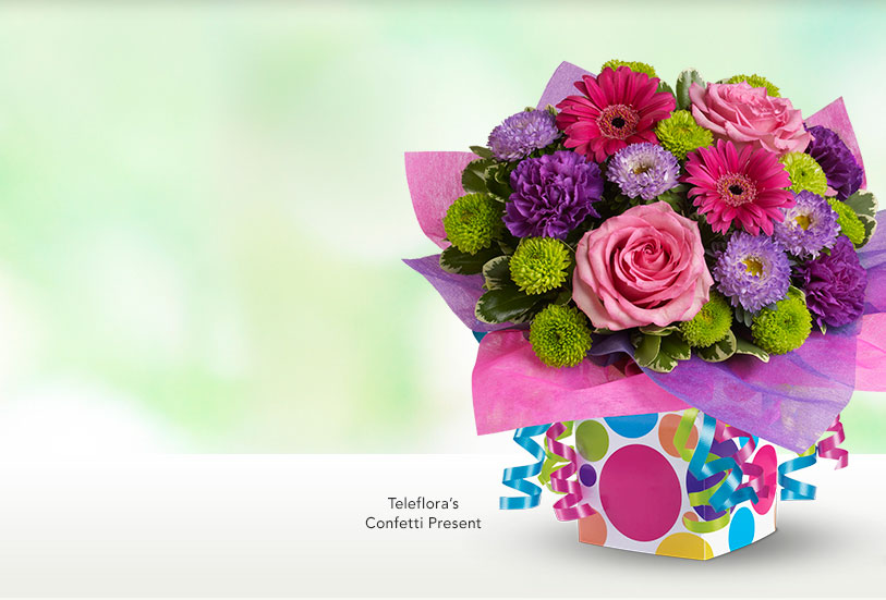 Teleflora's Confetti Present