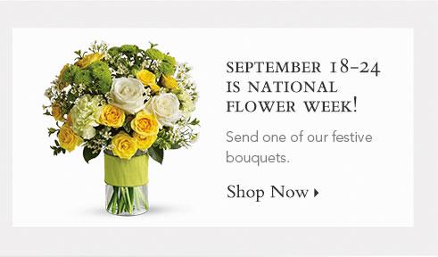 National Flower Week!