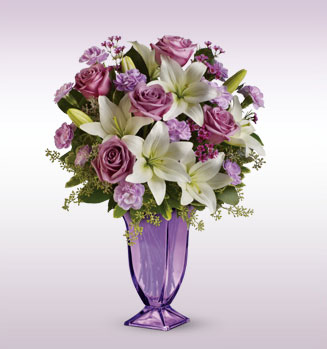 Teleflora's Lavender Love Bouquet