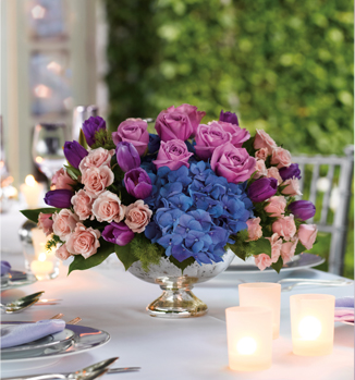 Teleflora's Purple Elegance