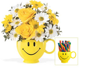 Teleflora's Be Happy� Flower Bouquet
