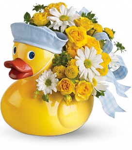 New Ducky Baby Gift Bouquet