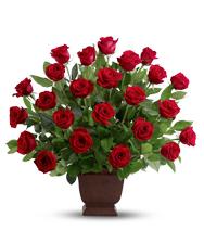 Hommage de roses