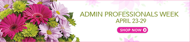 Send Admin Professional Week flowers to San Bernardino, CA with Inland Flowers