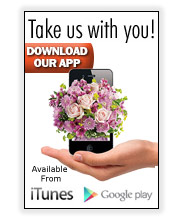 Sownload the Floralapp from Paul Buettner Florist.