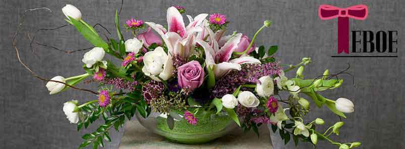 Send flowers to Traverse City, MI with Teboe Florist, your local Traverse City florist