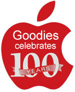 Goodies from goodman Celebrates 100 years!